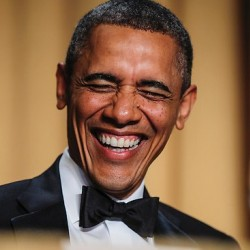 BARACK OBAMA - Stand-Up Performance At White House Correspondents' Dinner