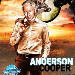 Journalist ANDERSON COOPER Gets A BLUEWATER Comic Book