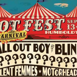 RIOT FESTIVAL Lineup Shows Fall Out Boy, Blink 182, Blondie And Many More Artists