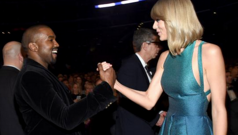 Kanye West and Taylor Swift Reunited at the Grammys