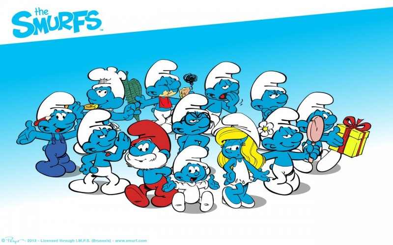 Fully Animated Smurfs Film Set For 2017 Release